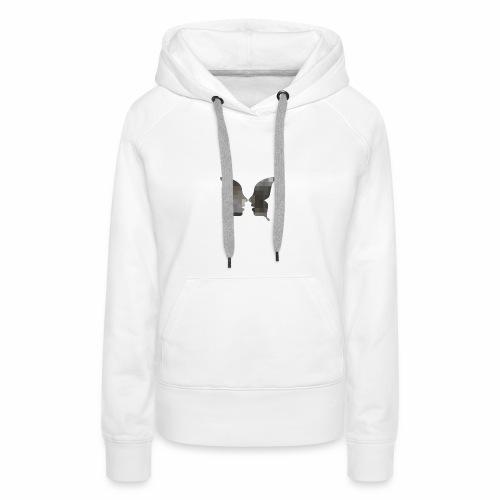 Schmetterlingsgesicht - Frauen Premium Hoodie