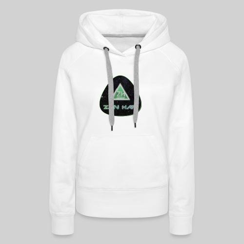 Zen Hap Triangle Hi Res - Women's Premium Hoodie