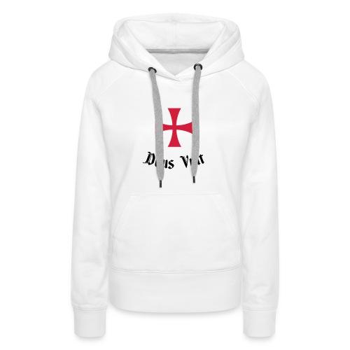 Deus Vult - Vrouwen Premium hoodie