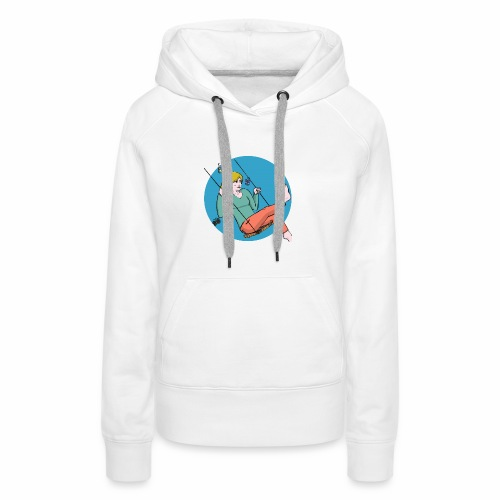 Enjoy Nature - Sweat-shirt à capuche Premium pour femmes