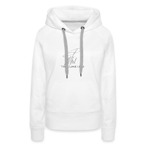 Signature Line - Trip like i do (dark gray) - Frauen Premium Hoodie