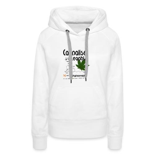 Cannalise Legabiz - it's all about cannabis - Vrouwen Premium hoodie