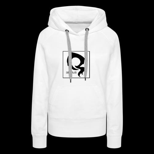 ᐚ ᗕ ᔹ ᖼ ᐻ Ż ____________LOGO v.2 By 5YN7H - Sweat-shirt à capuche Premium pour femmes