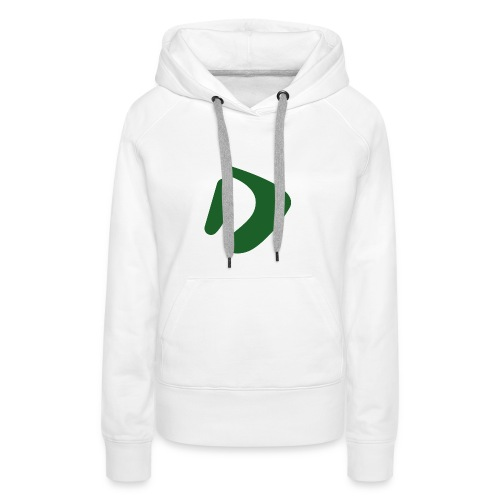 Logo D Green DomesSport - Frauen Premium Hoodie