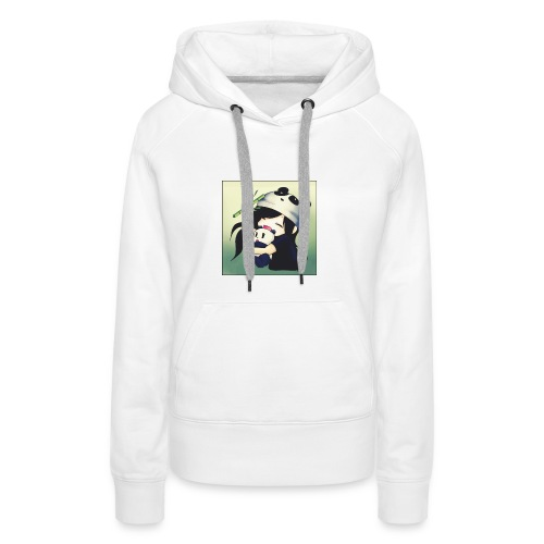 PandaMeli - Frauen Premium Hoodie