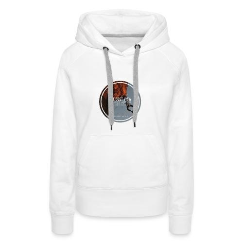 best view - Frauen Premium Hoodie