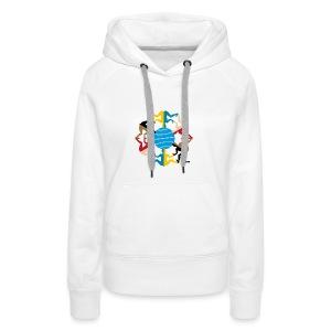 AANEEN_Zonder_Letters - Vrouwen Premium hoodie