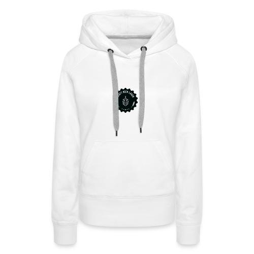 Logo(transparent) - Frauen Premium Hoodie