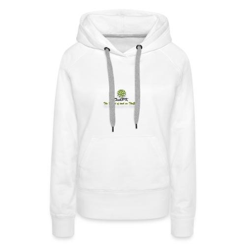 TechPK Branded T-Shirt - Women's Premium Hoodie