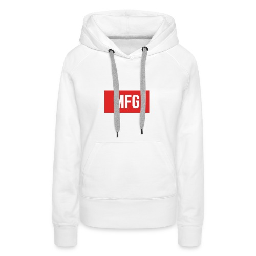 MFG on Youtube Logo - Women's Premium Hoodie