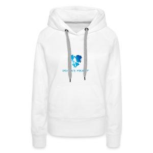 serce-png - Bluza damska Premium z kapturem