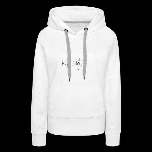 Ensemble Kyrielle - Logo - Sweat-shirt à capuche Premium pour femmes
