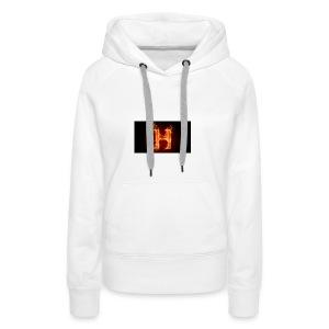 2560x1440-art_flaming_letter_h_digital_letter_fire - Premium hettegenser for kvinner
