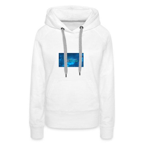 Ter Three Officail Banner - Women's Premium Hoodie