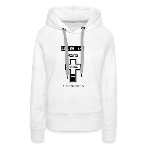 LifeBat120-jpg - Vrouwen Premium hoodie