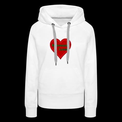 Maroccan_Love Original - Frauen Premium Hoodie