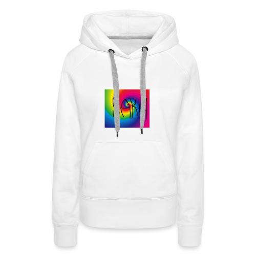 Swakua Logo Rainbow - Naisten premium-huppari