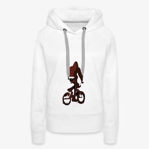 BMX Chill Ride - Felpa con cappuccio premium da donna