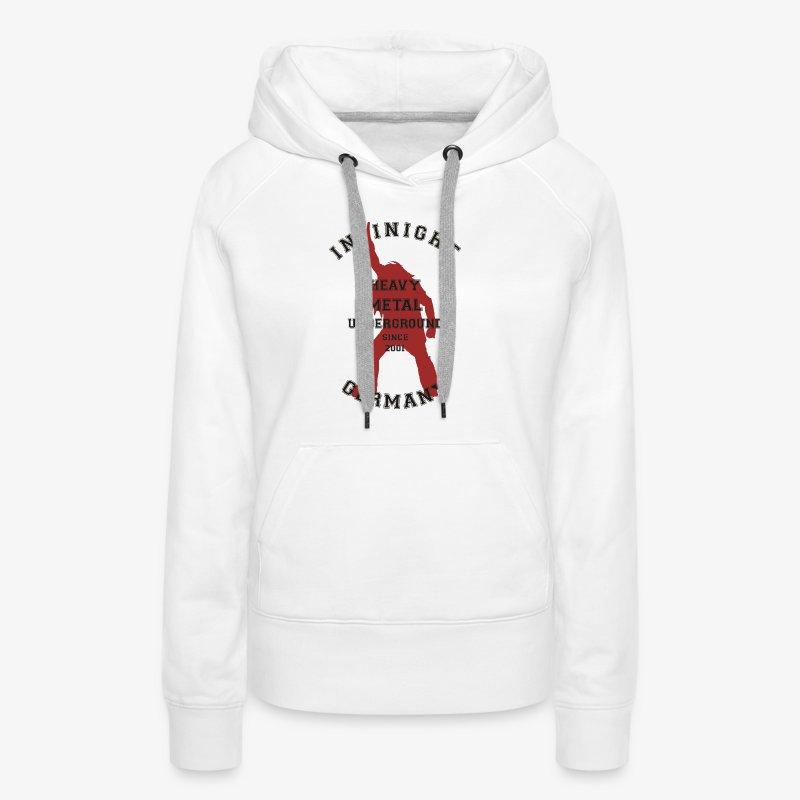Infinight College headbanger hell red - Frauen Premium Hoodie