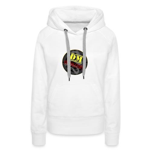 DM Federation Logo - Sudadera con capucha premium para mujer