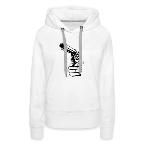 pray for you - Sweat-shirt à capuche Premium pour femmes