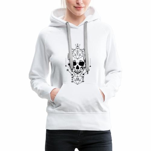 Pen and paper live by by the dice - Frauen Premium Hoodie