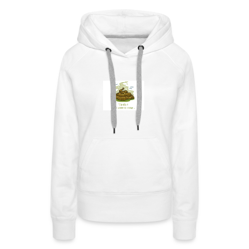 Its a poopie-day today. - Vrouwen Premium hoodie