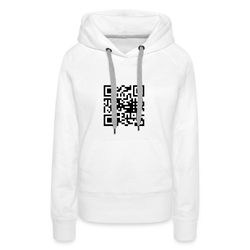 QR Code - Frauen Premium Hoodie