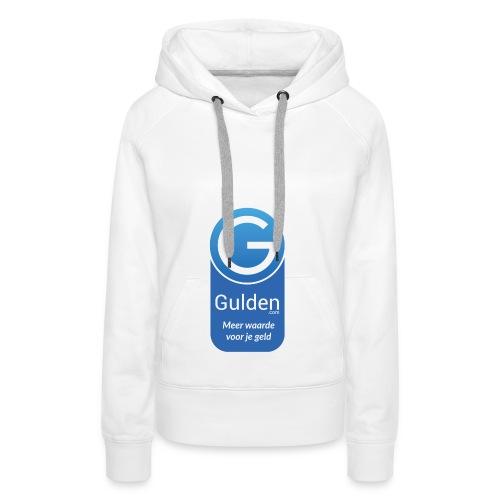 Gulden - Meer waarde voor je geld - Vrouwen Premium hoodie