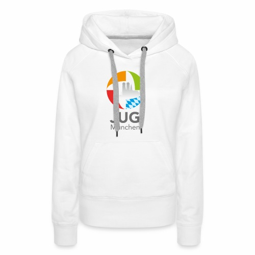 JUG Logo (color) - Frauen Premium Hoodie