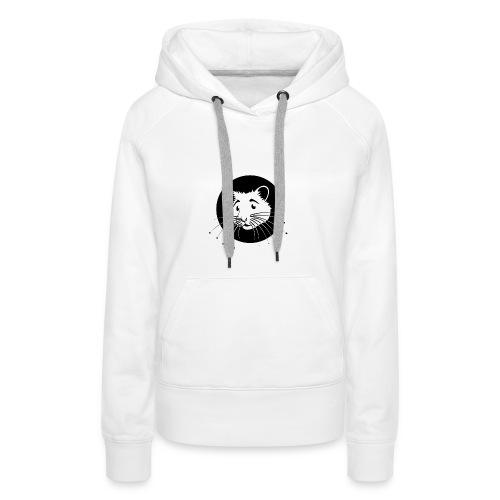 HAMSTER HUG - Sweat-shirt à capuche Premium pour femmes