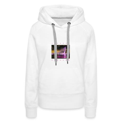 100 sweater wit - Vrouwen Premium hoodie