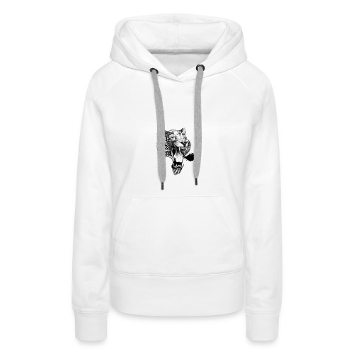 3 EYED LION - Vrouwen Premium hoodie