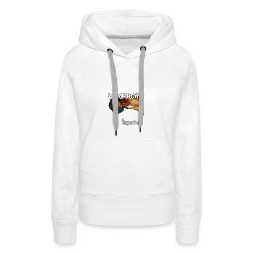 Wachhund Boxerliebe - Frauen Premium Hoodie