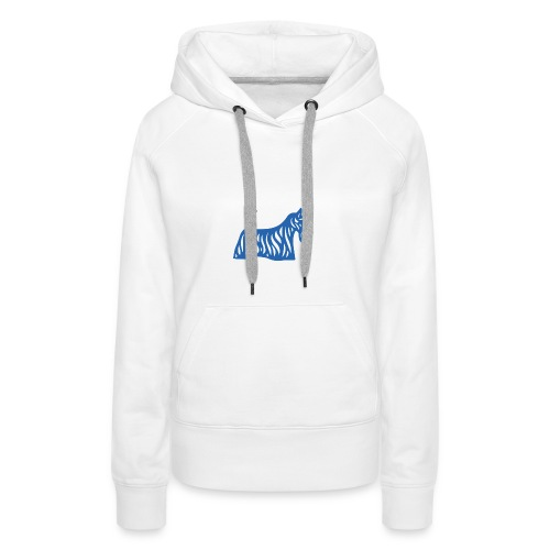 Founded in Scotland logo - Women's Premium Hoodie