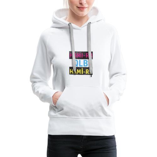 HAMI-R3 - Sweat-shirt à capuche Premium pour femmes