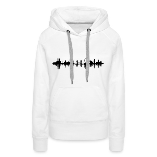 The Sound Of London - Frauen Premium Hoodie