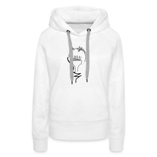 camiseta-original-chico-modelo-bulbbite-logo-bulb- - Sudadera con capucha premium para mujer