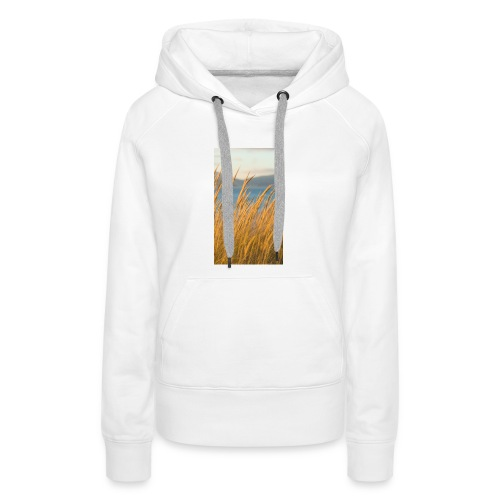 Summer grains - Sudadera con capucha premium para mujer
