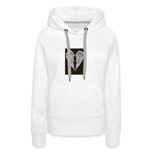 Angel Heart - Sweat-shirt à capuche Premium pour femmes