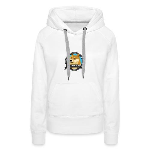 Doge merch - Vrouwen Premium hoodie