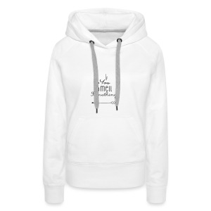 If You Smell Something Left Twins Rompertje - Vrouwen Premium hoodie