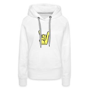 METAL_HAND,METALIBI - Vrouwen Premium hoodie