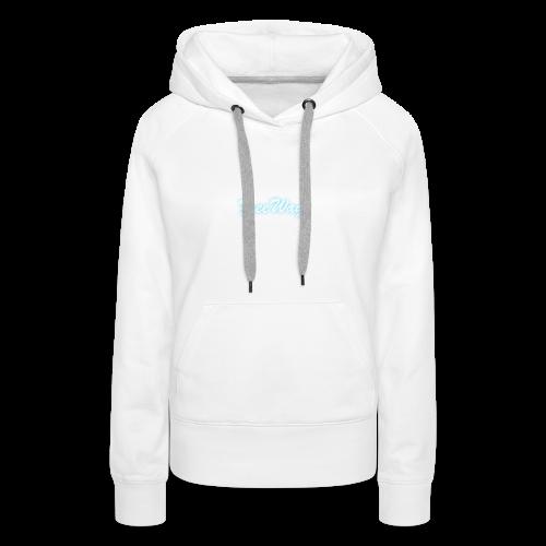 FreeWag Blanc - Sweat-shirt à capuche Premium pour femmes