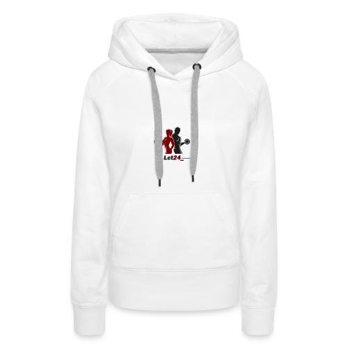 Lct24 - Sweat-shirt à capuche Premium pour femmes