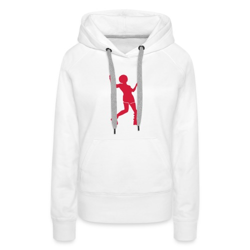 Roller disco - Sweat-shirt à capuche Premium pour femmes