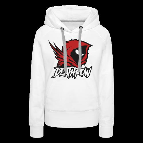 DeathRow_V1 - Sweat-shirt à capuche Premium pour femmes