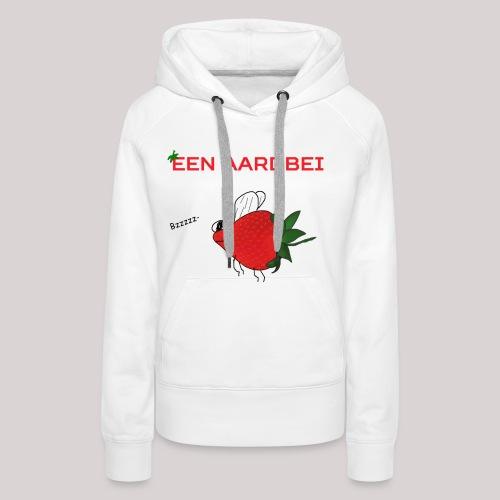 Een aardbei - Vrouwen Premium hoodie