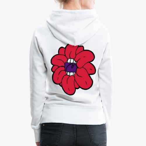 SkinnyCurls Rose - Frauen Premium Hoodie