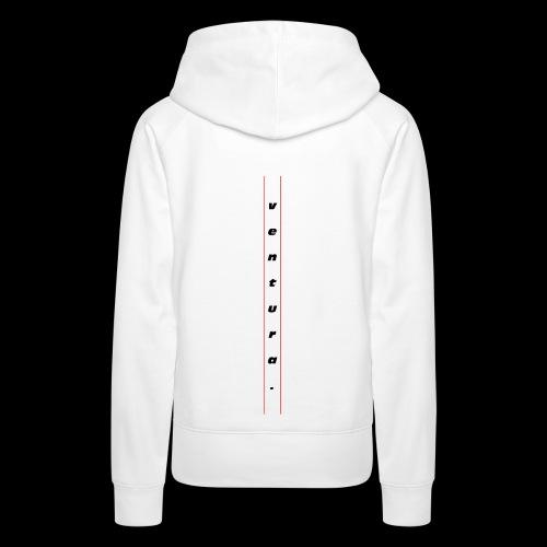 Ventura Back Logo - Vrouwen Premium hoodie